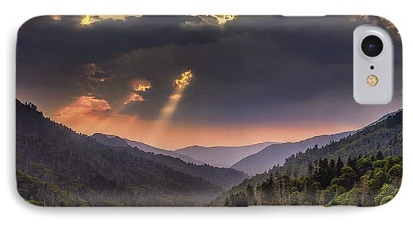 Breaking Thru At Sunset IPhone Case by Andrew Soundarajan