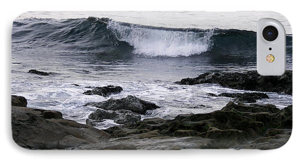 IPhone Case featuring the photograph Breaking Waves by Carol  Bradley