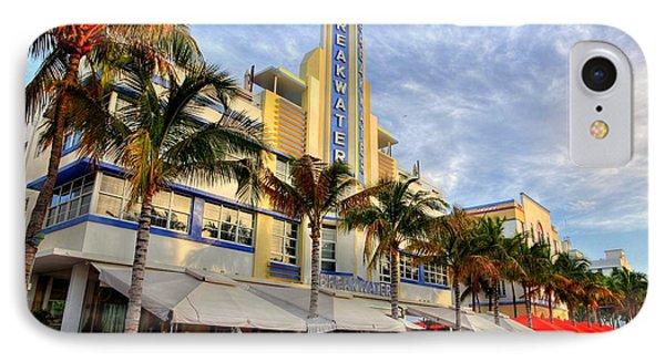 Breakwater Hotel IPhone Case