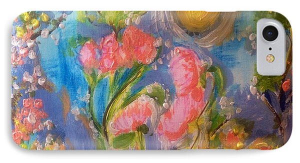 Breathing In The Sunlight IPhone Case by Judith Desrosiers