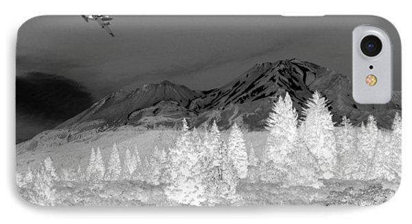 Breathtaking In Black And White Phone Case by Joyce Dickens