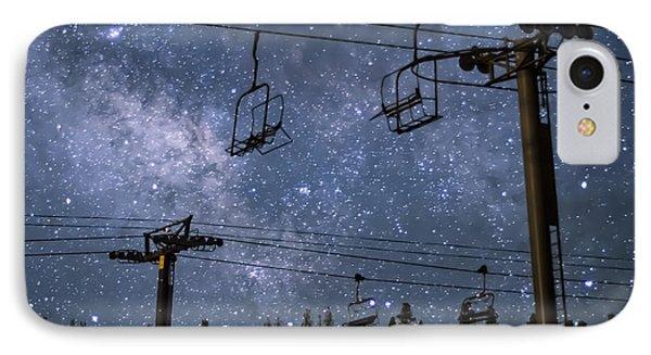 Breckenridge Milky Way IPhone Case by Michael J Bauer