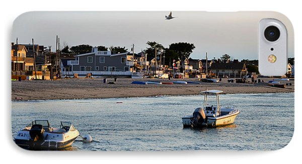 Breezy Point Bayside 2 IPhone Case by Maureen E Ritter