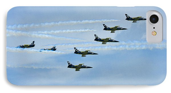 IPhone Case featuring the photograph Breitling Air Show by Linda Constant