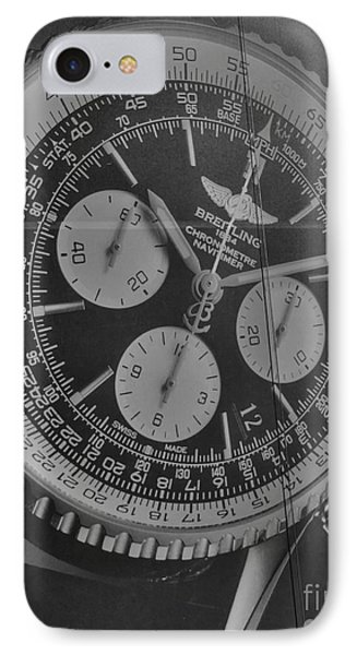 Breitling Chronometer IPhone Case by David Bearden