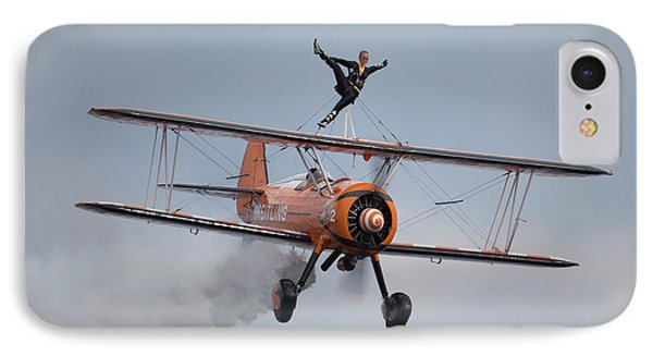 Breitling Wing Walker IPhone Case by Nichola Denny