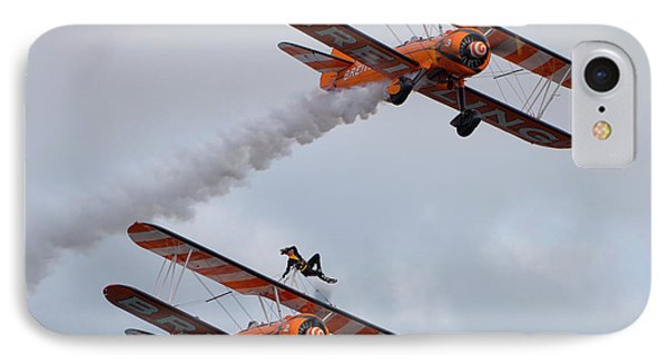 Breitling Wing Walkers IPhone Case by Nichola Denny