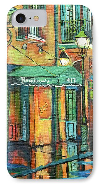 IPhone Case featuring the painting Brennan's by Dianne Parks