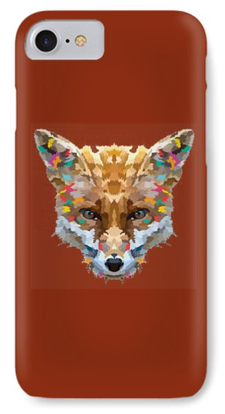 Brerr Fox T-shirt IPhone Case