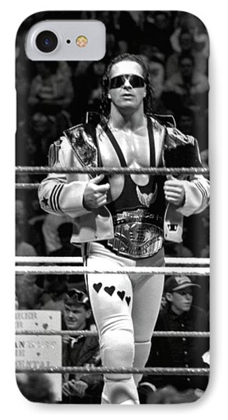 Bret Hart Intercontinental Champion IPhone Case