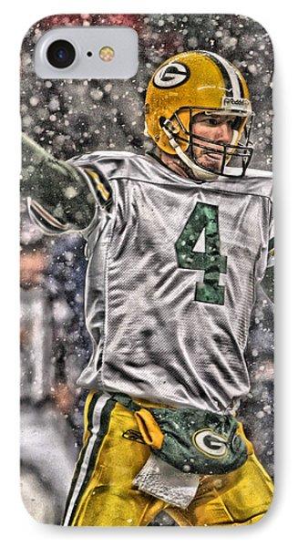 Brett Favre Green Bay Packers 2 IPhone Case