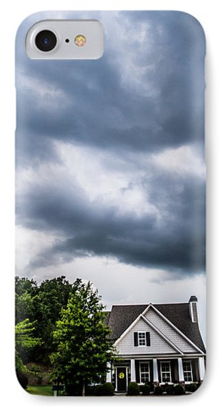 Brewing Clouds IPhone Case by Parker Cunningham