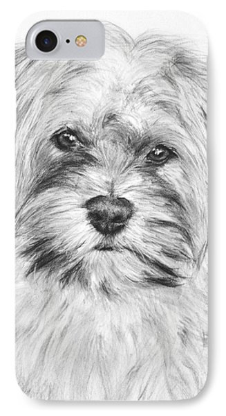 Brewser The Shih Tzu IPhone Case by Kate Sumners