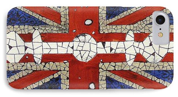 Union Jack Phone Case by Emil Bodourov