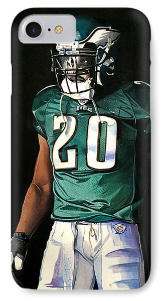 Brian Dawkins Weapon X - Philadelphia Eagles IPhone Case by Michael  Pattison