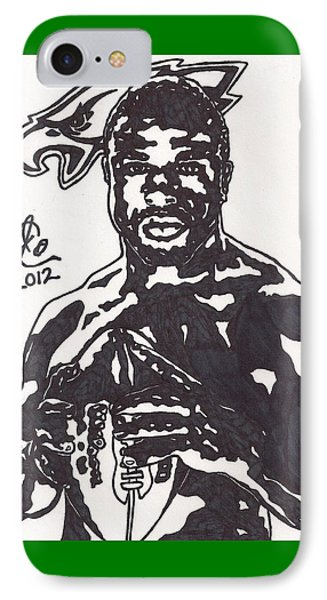Brian Westbrook Phone Case by Jeremiah Colley