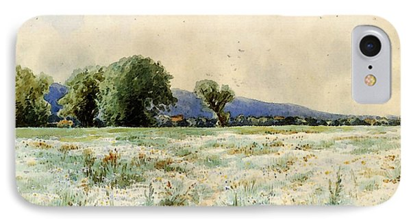 Bricher Alfred Thompson The Daisy Field IPhone Case