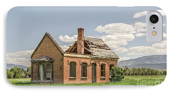 IPhone Case featuring the photograph Brick Home In June 2017 by Sue Smith
