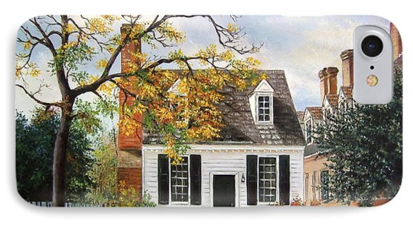 Brick House Tavern Shop IPhone Case by Gulay Berryman