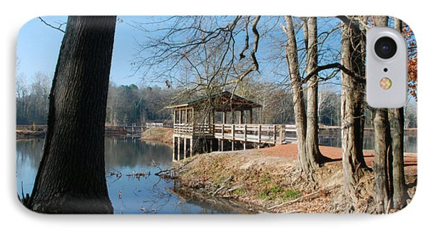 IPhone Case featuring the photograph Brick Pond Park by Kay Lovingood