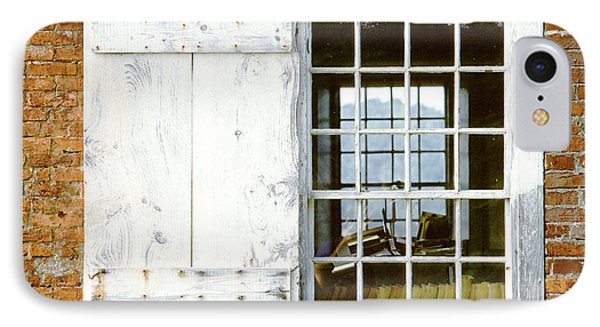 Brick Schoolhouse Window Photo IPhone Case by Peter J Sucy