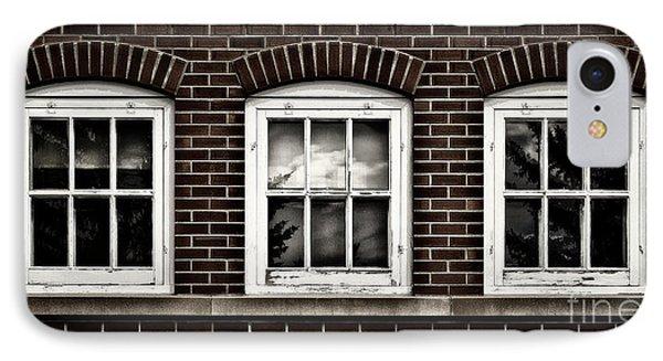 IPhone Case featuring the photograph Brick Trio by Brad Allen Fine Art