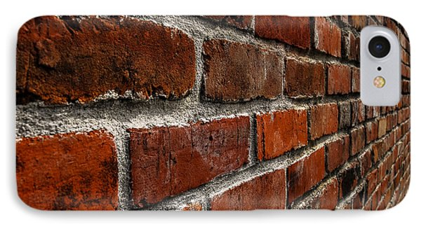 Brick Wall With Perspective IPhone Case