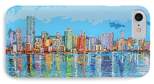 Brickell Bay IPhone Case by Luque Luque