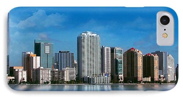 Brickell Skyline 1 IPhone Case by Bibi Romer