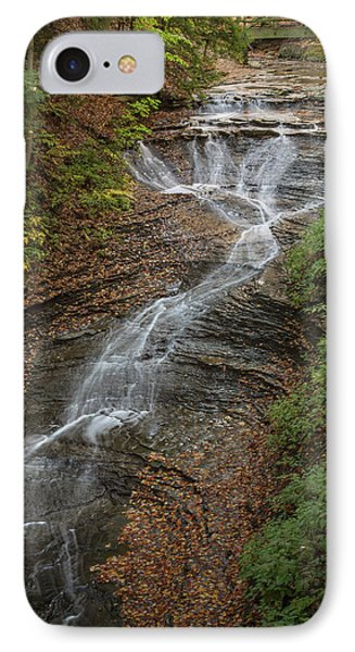 IPhone Case featuring the photograph Bridal Veil Falls by Dale Kincaid