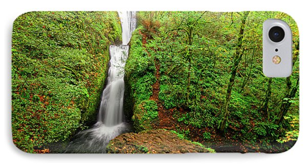 Bridal Veil Falls IPhone Case by Jonathan Davison