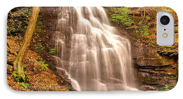 Bridal Veil Falls IPhone Case by Nick Zelinsky