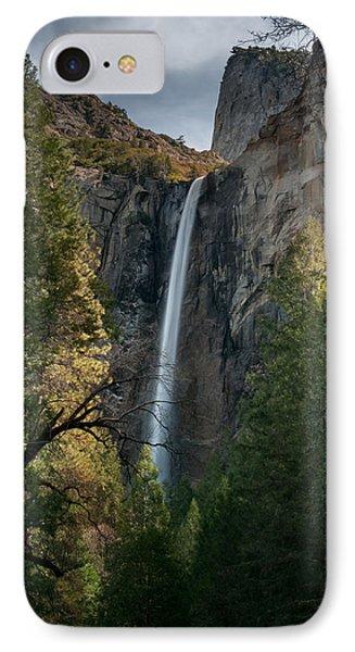 Bridal Veil Falls IPhone Case by Ralph Vazquez