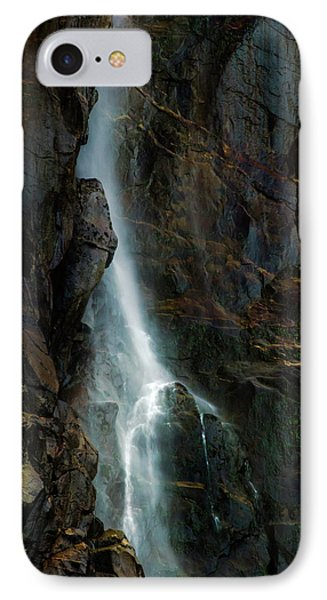 Bridalveil Falls In Autumn IPhone Case by Bill Gallagher