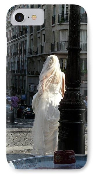IPhone Case featuring the photograph Bride Of Paris by Rdr Creative