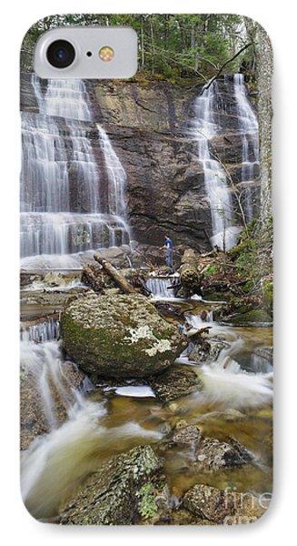 Bridesmaid Falls - Franconia New Hampshire IPhone Case by Erin Paul Donovan