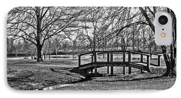 IPhone Case featuring the photograph Bridge And Branches by Greg Jackson
