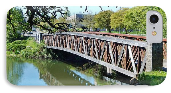 Bridge At Cox Creek IPhone Case by VLee Watson