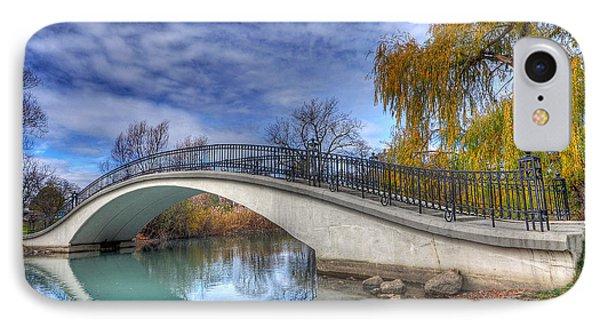 Bridge At Elizabeth Park IPhone Case