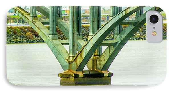IPhone Case featuring the photograph Bridge At Gold Beach by Dale Stillman