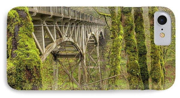 Bridge At Latourell Falls Oregon IPhone Case by Dustin K Ryan