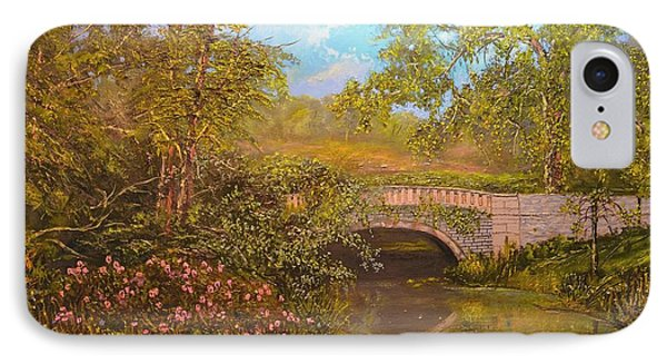 Bridge At Minterne IPhone Case