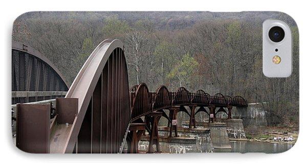 Bridge At Ohiopyle Pennsylvania IPhone Case