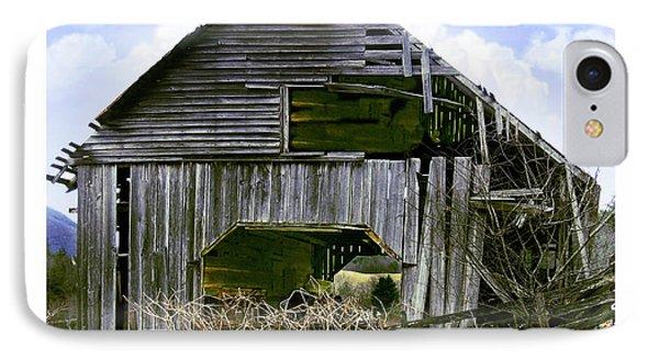 Bridge Creek Barn IPhone Case by Susan Leggett