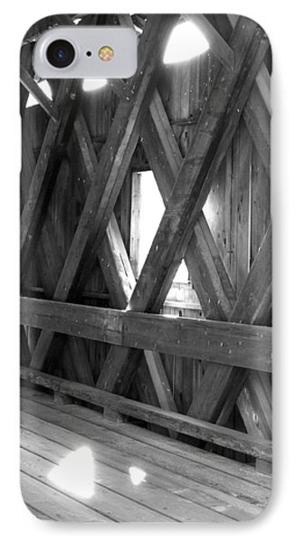 IPhone Case featuring the photograph Bridge Glow by Greg Fortier