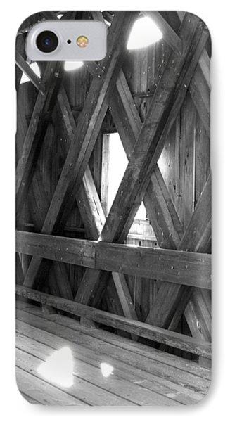 Bridge Glow IPhone Case by Greg Fortier