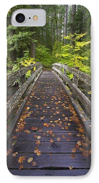 Bridge In A Park Phone Case by Craig Tuttle