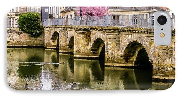 Bridge In The Loir Valley, France IPhone Case by Menachem Ganon