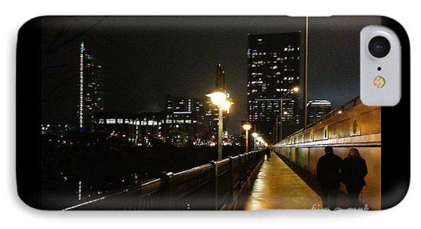 Bridge Into The Night IPhone Case by Felipe Adan Lerma