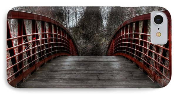 IPhone Case featuring the photograph Bridge by Michaela Preston